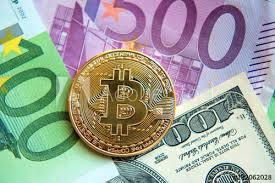 The markets are moving fast. Bitcoin On Dollar And Euro Bills Investment Exchange Rate Wealth Luxury Success Stock Exchange Concept Buy This Stock Photo And Explore Similar Images At Adobe Stock Adobe Stock