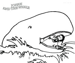 jonah and the whale coloring page printable pages for kids story of big