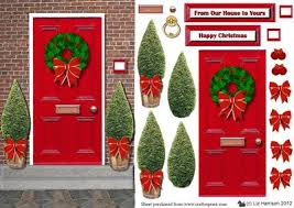 christmas front door clipart. Interesting Front Christmas Door Clipart Throughout Front Door Clipart H