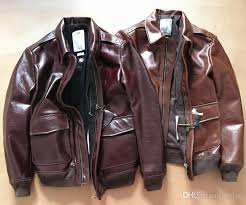 2018 top quality handmade limited classic world war ii a2 leather men s leather skin clothes men s horse leather jackets from tinlon 199 0 dhgate com