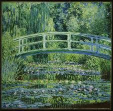 claude monet water lilies and japanese bridge 1899 image courtesy princeton university art museum