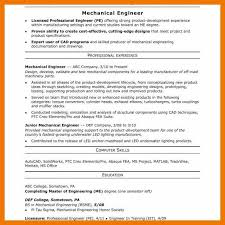 Professional Engineer Resume Samples 12 13 Mid Level Engineering Resume Mysafetgloves Com