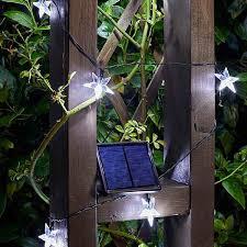 smart solar star super bright led solar string lights solar garden lighting webbs garden centre