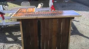 Barnwood Bar pallet wood barn wood reclaimed wood bar build youtube 2867 by guidejewelry.us