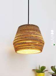 Kartonnen Upcycle Lamp Hexa Light Luuxoo Verlichting