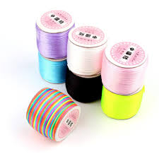 <b>TYRY</b>.<b>HU 45</b> Meters Satin Silk Rope Nylon Cord Nylon wire rolls ...