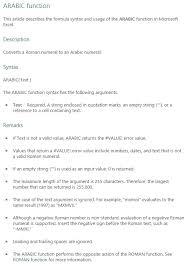 Formula Forensics No 041 Convert A Roman Numeral To A