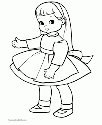 Small Picture Baby Doll Coloring Pages intended for The house Cool Coloring