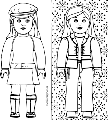 Small Picture American Girl Coloring Pages To Print olegandreevme