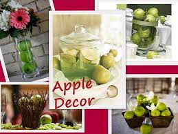 wedding table decorations using apples   apples in basket apples and  gerbers floating apples red apples