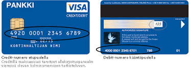 Credit Should debit Klever A Card Card Have I Number Which Use -