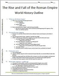 r  empire  the r s and history of the world on pinterestrise and fall of the r  empire   free printable history outline for grades