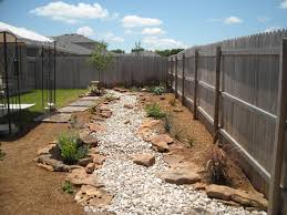Small Picture Dry creek bed with decomposed granite beds and flagstone pathway