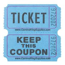 Image result for raffle tickets
