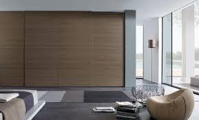 sliding door bedroom furniture. spacious brown sliding door wardrobe furniture design with unique wood seat bedroom r
