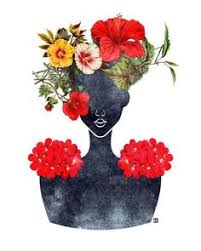 30 black woman owned online stores to shop this holiday season crown silhouetteart for homefloral wall  on black woman silhouette wall art with we birds of a feather women sisters and mothers and daughters
