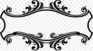 Design Decorative Simple Ornament Decorative Arts Picture Frames Clip Art Border Design Png