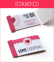 Homemade Gift Vouchers Templates Amazing Free Printable Love Coupons
