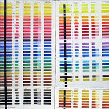 M Graham Color Chart M Graham Watercolor Paint Chart Best Picture Of Chart
