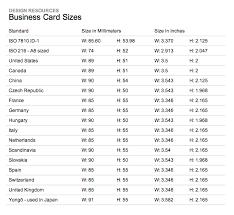International Business Card Sizes Letterhead Pinterest