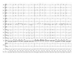 Big Band Charts Free Pdf Topsy Count Basie Full Big Band Arrangement Sheet Music