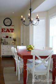 simple kitchen table decor ideas. Basic Farmhouse Dining Room With Simple Rustic Decor Kitchen Table Ideas A