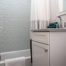 This vibrant modern bathroom features vivid black and white retro tiles, complimented by the rooms design of cool grey walls and units, copper one of the most functional elements of this bathroom is the hidden washer and dryer area and bespoke grey fitted units, which give ample storage, whilst. Gray Bathroom And Small Bathroom Pictures Hgtv Photos