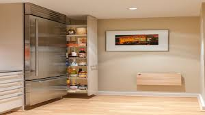 Small Kitchen Space Saving Diy Pull Out Pantry Shelves Space Saving Kitchen Appliances Small