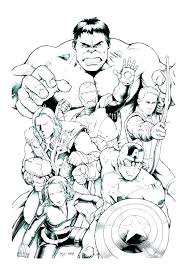 Avengers Coloring Page Avengers Coloring Pages Printable For Kids
