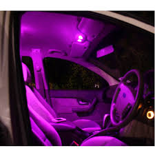 Purple Led Interior Dome Lights Us 2 46 8 Off 11pcs Auto Car Interior Bright Purple Led Bulb Light Parking Backup T10 31mm License Plate Dome Lights In Signal Lamp From