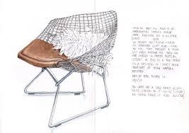 Harry Bertoias Diamond Lounge Chair Sandys Drawing Room