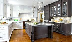 painting kitchen cabinets two diffe colors transitional color ideas for painting kitchen cabinets two tone kitchen