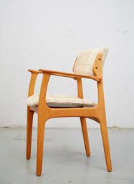 dining chair 50 von erik buch für o d møbler oak eiche