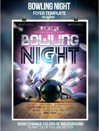 Bowling Event Flyer Template Bowling Event Flyer Template Prinsesa Co