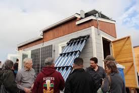 tiny house heater. The California State University, Sacramento Team, Designed This Zero-net Energy Tiny House Heater
