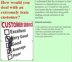 Sample Resume Questions 100 best Customer service representative interview questions images 84