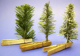 Christmas Tree Village Display Stands Free Scenery Set Pieces