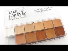 makeup forever foundation flash palette how to use updated contour highlighting