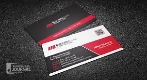 Free Creative Modern Corporate Business Card With Qr Code