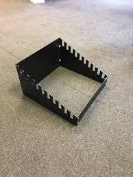 10 row toast rack style sample stand