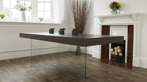 Aria Espresso Dark Wood And Glass Dining Table Furniture Great