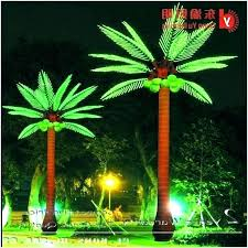 fake palm trees with lights outdoor artificial solar for outside lighting unique outdoor artificial palm trees with lights or fake palm trees with lights