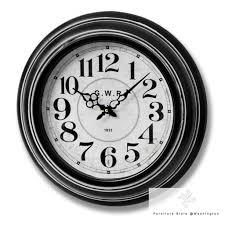 Retro Kitchen Wall Clocks Large Wall Clocks Kitchen Shabby Chic Vintage Station Chicken