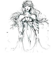Aphrodite Coloring Page Coloring Pages Page Goddess Of Love Free