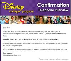 Phone Interview Falling Into Disney