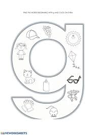 A collection of english esl worksheets for home learning, online practice, distance learning and english classes to teach about phonics, phonics. G Sound Phonics Worksheet