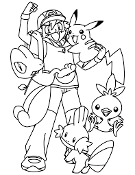 Small Picture Pokemon Fun Together Pokemon Coloring Pages Pinterest