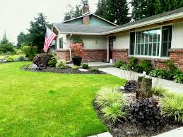 simple landscaping ideas home. Comfy Simple Landscape Ideas Front House For Yard Remarkable Landscaping In Arizona And Andeasy Architect Against Home
