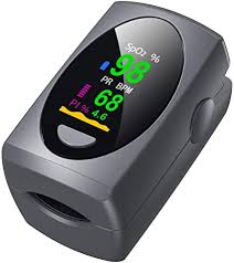 Pulse Oximeter Fingertip, Digital Blood Oxygen ... - Amazon.com