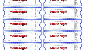 Admit One Ticket Template Free Fascinating Movie Ticket Template Printable Templates Invitation Free